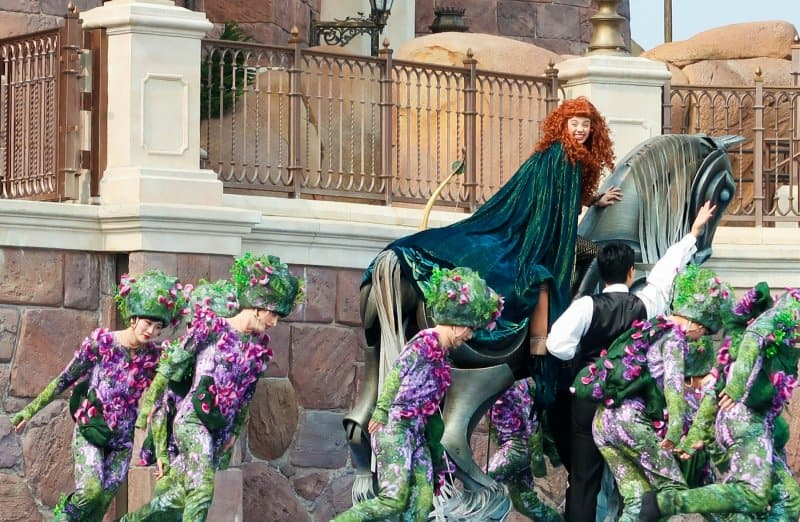 Merida Golden Fairytale Fanfare Shanghai Disneyland