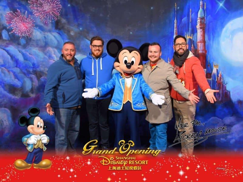 Mickey Mouse Shanghai Disneyland Meet N Greet