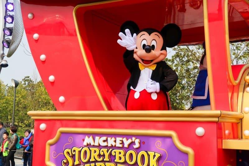 Mickey's Storybook Express Mickey Shanghai Disneyland