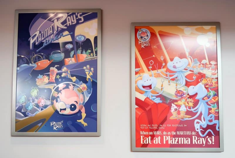More Posters Plazma Ray's Diner Tokyo Disneyland