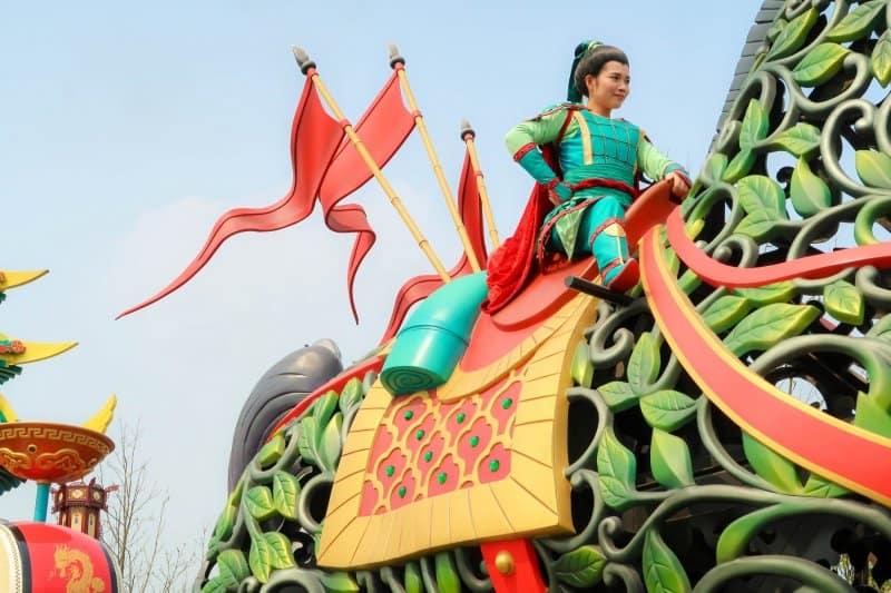 Mulan Mickey's Storybook Express Shanghai Disneyland