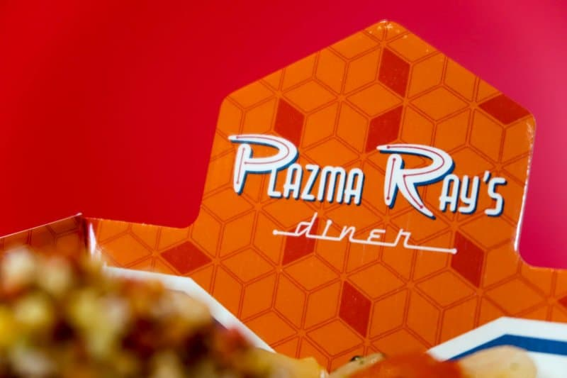 Rice Bowl Packaging Plazma Ray's Diner Tokyo Disneyland