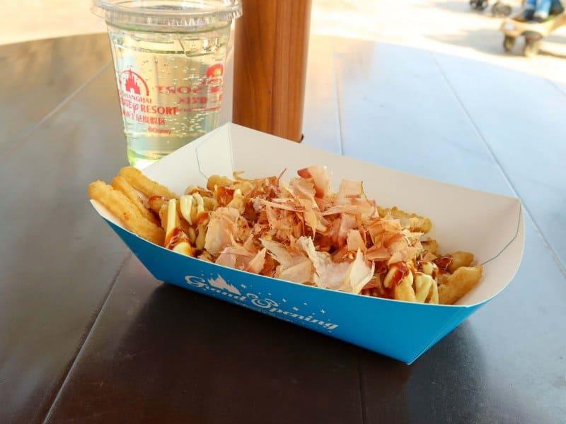 Seafood Churro Shanghai Disneyland Upclose