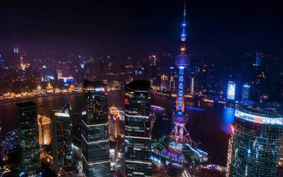 Shanghai Skyline Travel Caffeine