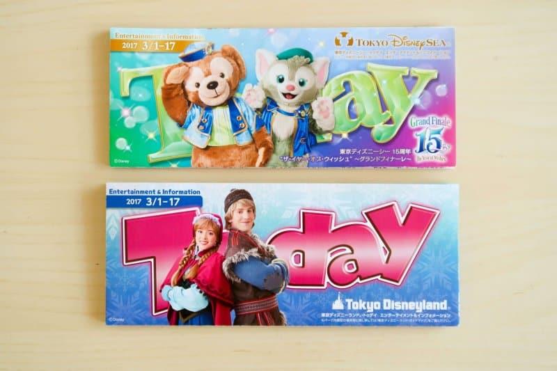 Today Guides Tokyo Disneyland DisneySea March 2017 Part One