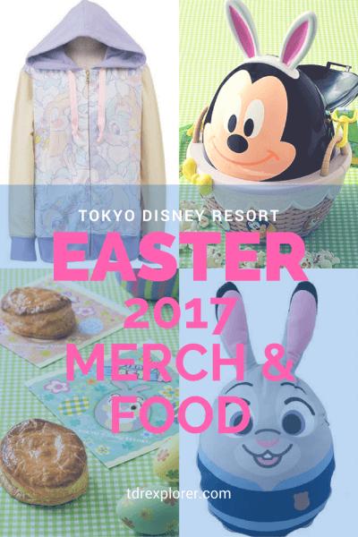 Tokyo Disney Resort Disneys Easter 2017 Merchandise Food Pinterest