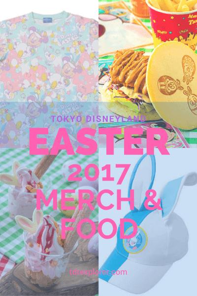 Tokyo Disneyland Disneys Easter 2017 Merchandise Food Pinterest