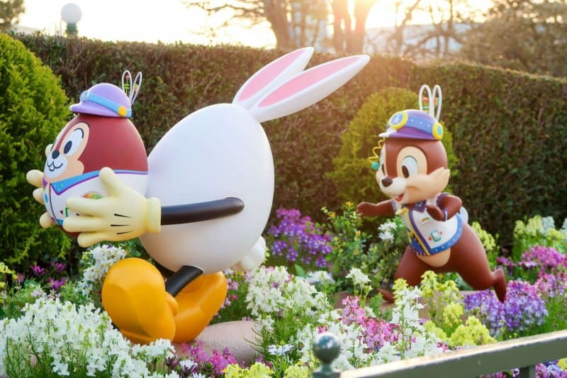 Chip Easter Egg Tokyo Disneyland Usatama