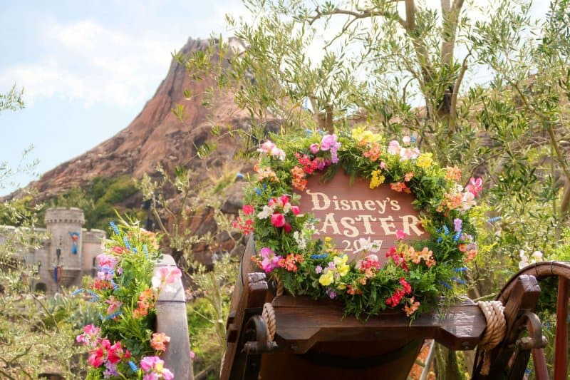 Disney's Easter 2017 Floral Arrangement Tokyo DisneySea