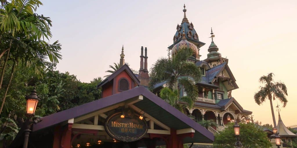 Explore Mystic Manor at Hong Kong Disneyland in Limited Time Guided Tour