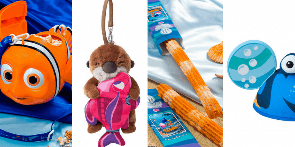 Nemo & Friends SeaRider Merchandise and Food Update