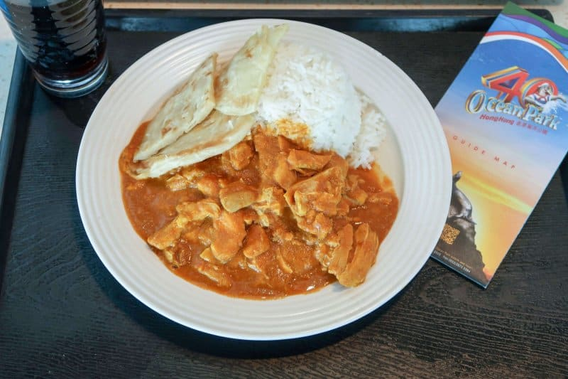 Ocean Park Hong Kong Chicken Curry
