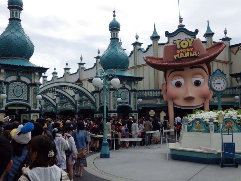 Toyville Trolley Park Toy Story Mania Tokyo DisneySea