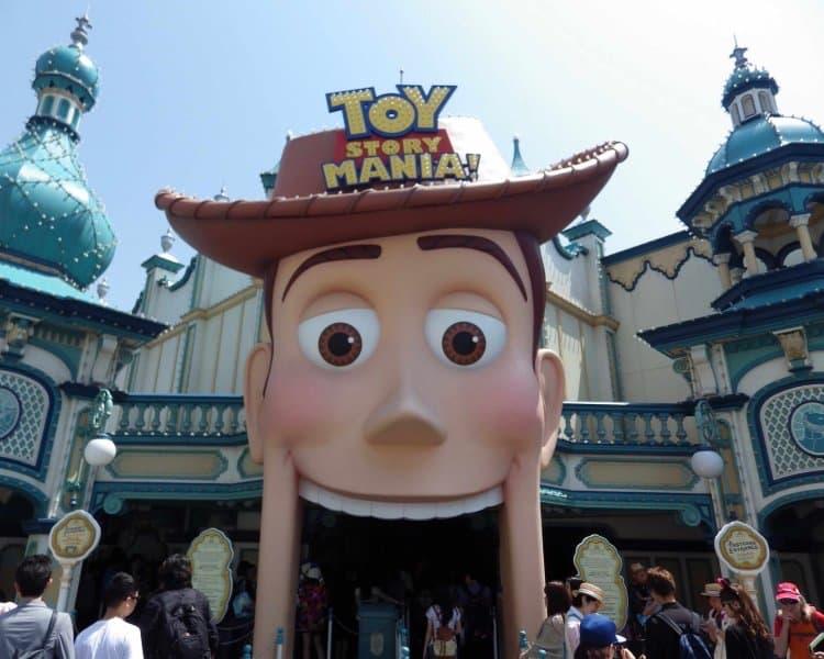 Toyville Trolley Park Toy Story Mania Tokyo DisneySea Entrance