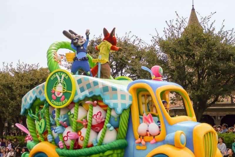 Usatama on the Run Judy Nick Tokyo Disneyland