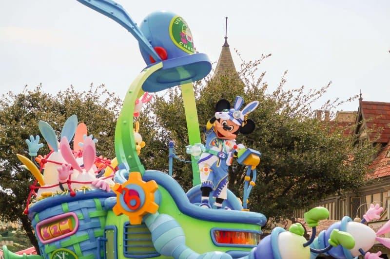 Usatama on the Run Mickey Tokyo Disneyland