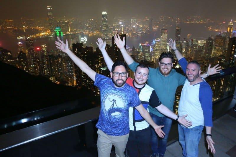 Victoria Peak Hong Kong TDR Explorer