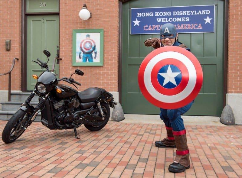 Captain America Super Hero Summer
