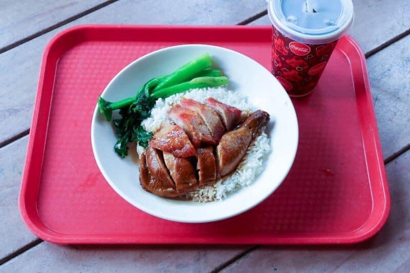 Clopin's Festival of Foods Hong Kong Disneyland BBQ Pork