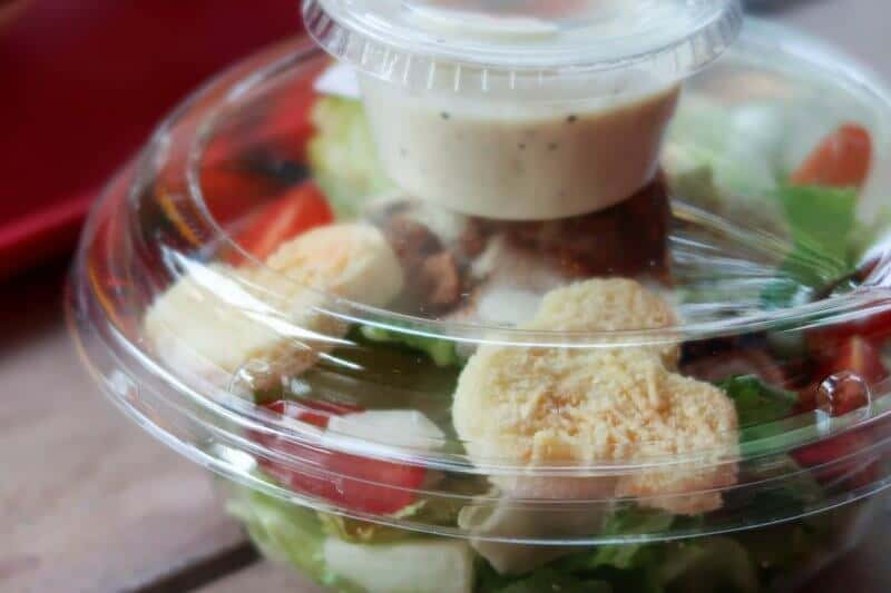 Clopin's Festival of Foods Hong Kong Disneyland Caesar Salad