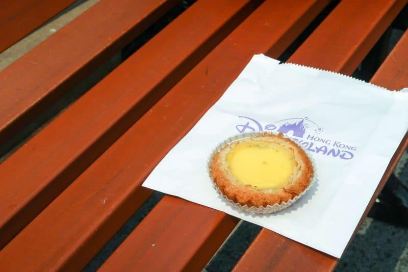Hong Kong Disneyland Egg Custard Tart