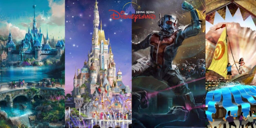 Hong Kong Disneyland Multi-Year Expansion Receives Funding Approval