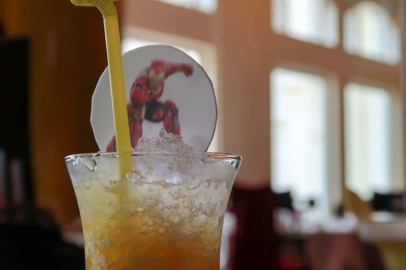 Hong Kong Kong Disneyland Crystal Lotus Iron Man Drink