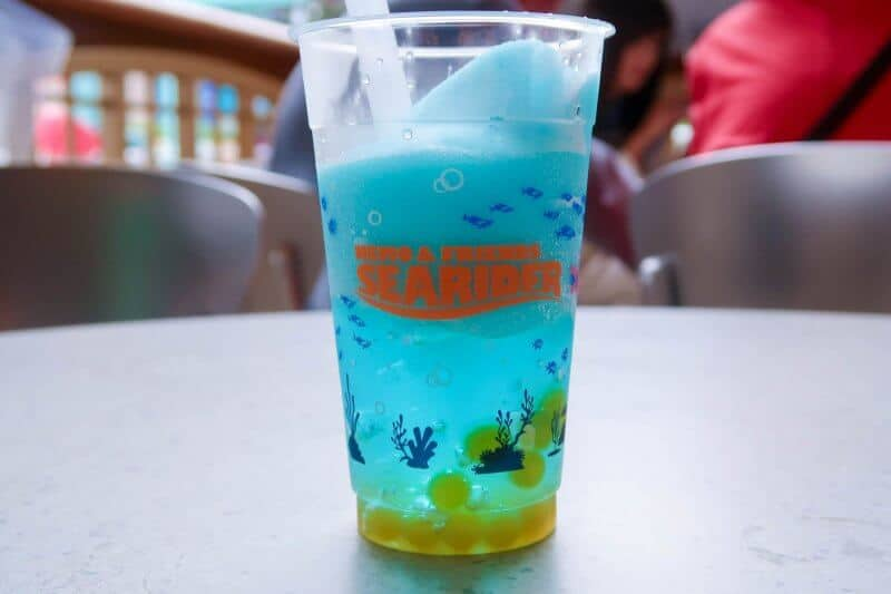 Nemo & Friends SeaRider Pineapple Smoothie Tokyo DisneySea