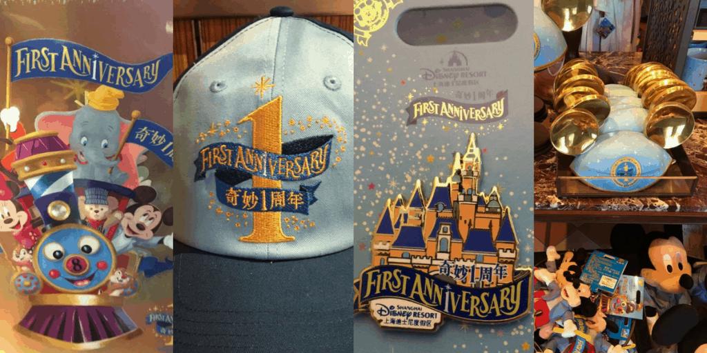 Shanghai Disneyland 1st Anniversary Merchandise