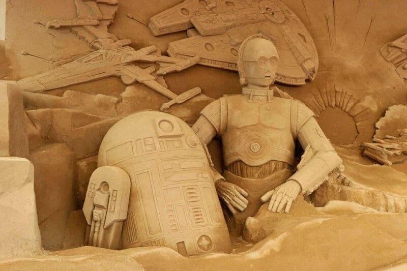 Tottori Sand Dunes Japan Close