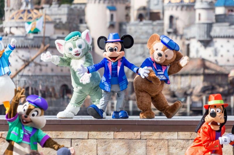 Gelatoni Mickey Duffy Tokyo DisneySea