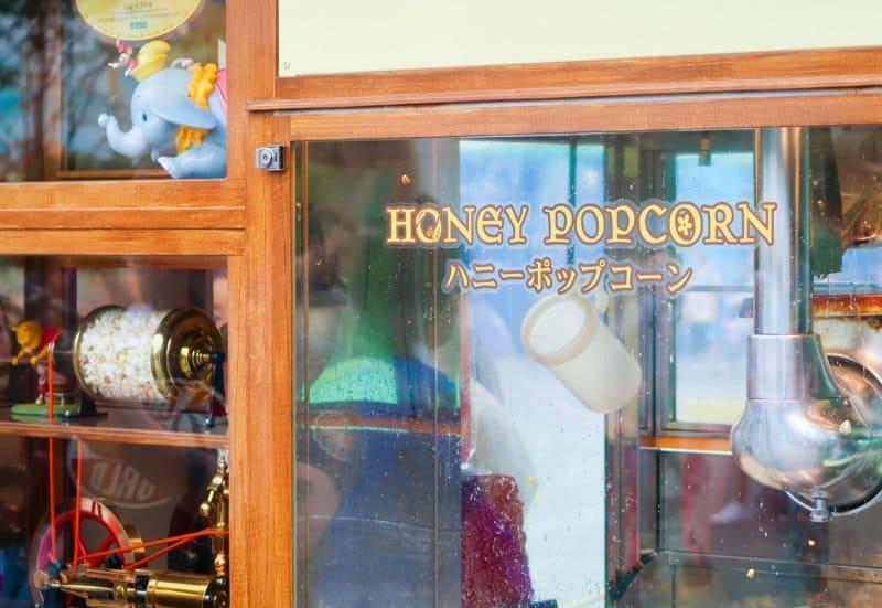 Honey Popcorn Tokyo Disneyland