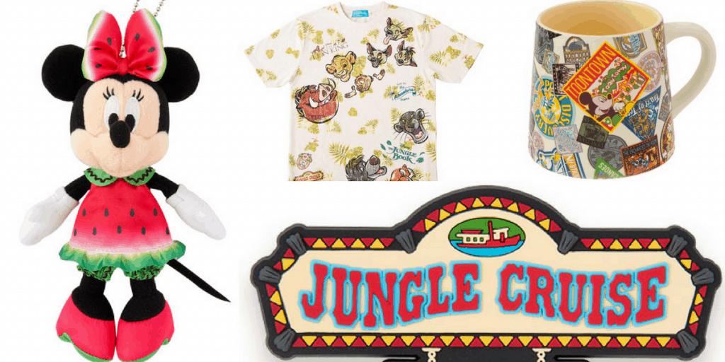 Tokyo Disney Resort Merchandise Update July 2017