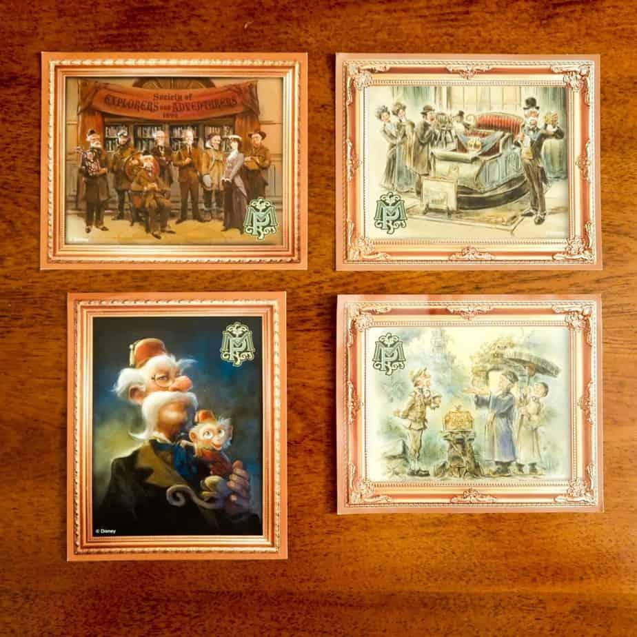 Mystic Manor Stickers Hong Kong Disneyland