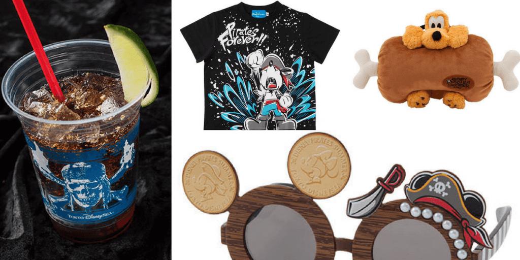 Disney Pirates Summer 2017 Merchandise & Food Update for Tokyo DisneySea
