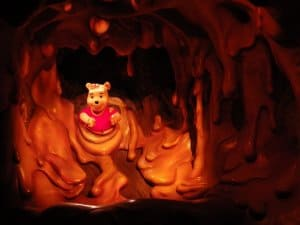 Inside Pooh's Hunny Hunt at Tokyo Disneyland