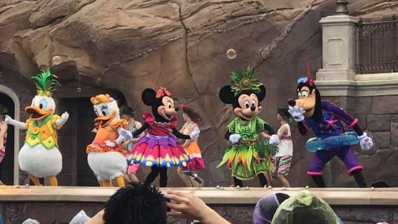 Summer Blast Mickey Shanghai Disneyland