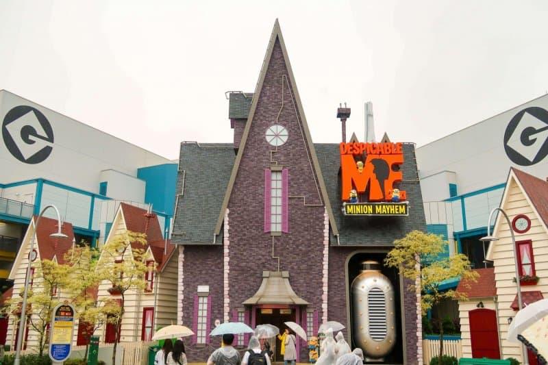 Universal Studios Japan Despicable Me Minions Mayhem