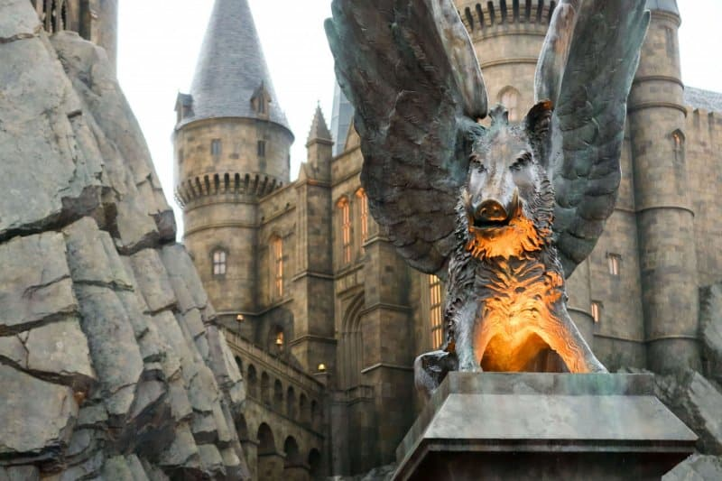 Universal Studios Japan Harry Potter and the Forbidden Journey