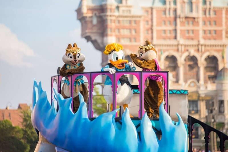 Villains World Tokyo DisneySea Chip Dale Donald