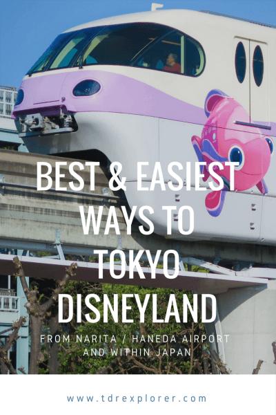Best & Easiest Ways to Tokyo Disneyland Pinterest