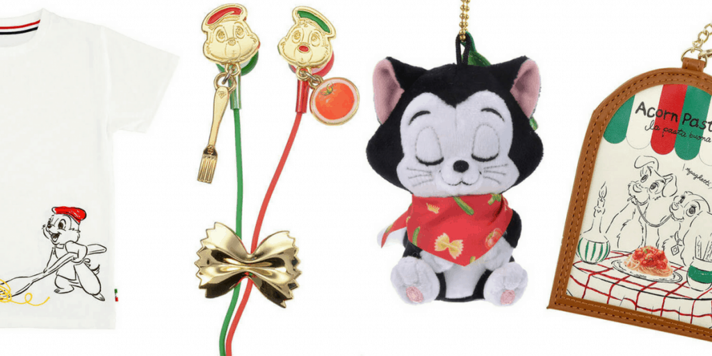 """Yummy Pasta"" Merchandise Available at Disney Store Japan for July 2017"