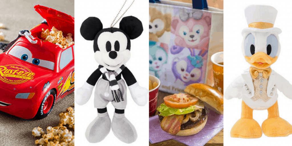 Tokyo Disney Resort Merchandise & Food Update August 2017