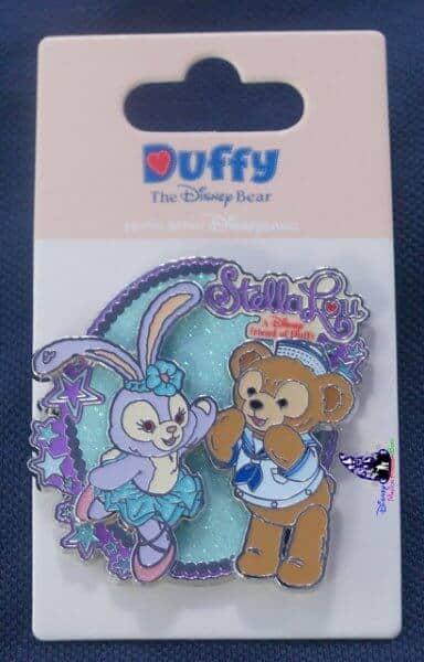 StellaLou and Duffy Pin HK $78 ($10USD)