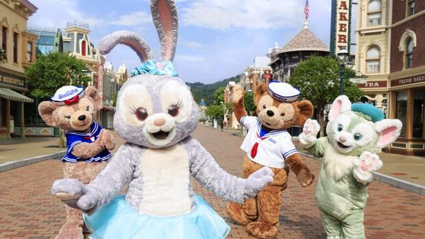 Meet StellaLou at Hong Kong Disneyland