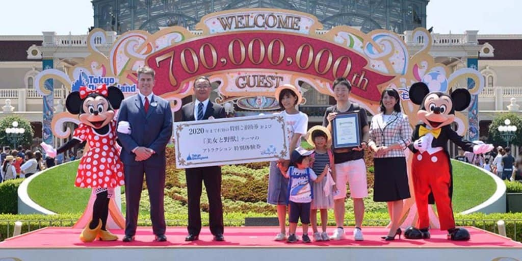 Tokyo Disney Resort Welcomes 700 Millionth Guest