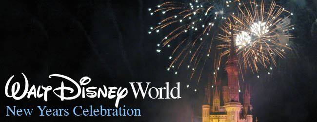 2012 New Years Celebration in Walt Disney World
