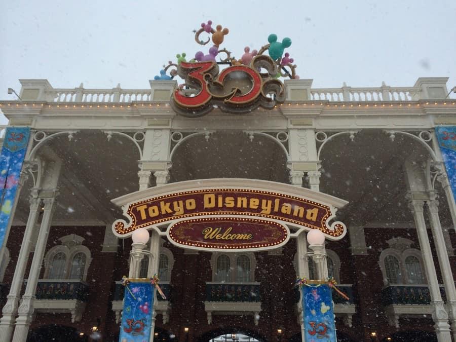 Welcome To Tokyo Disneyland In Snow Tdr Explorer