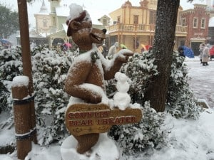 And Another Snowman Mickey