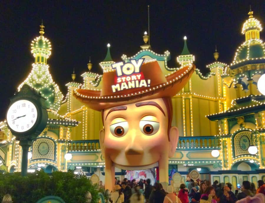 Welcome to Toy Story Midway Mania!